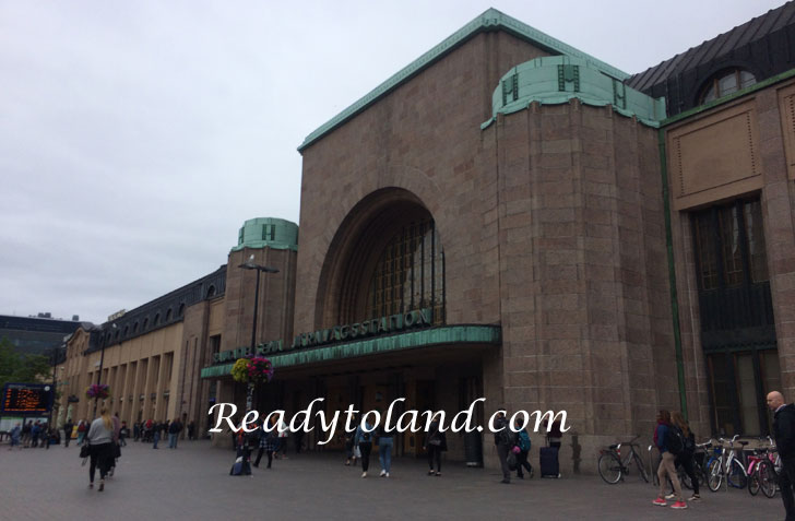 Helsinki, Central station