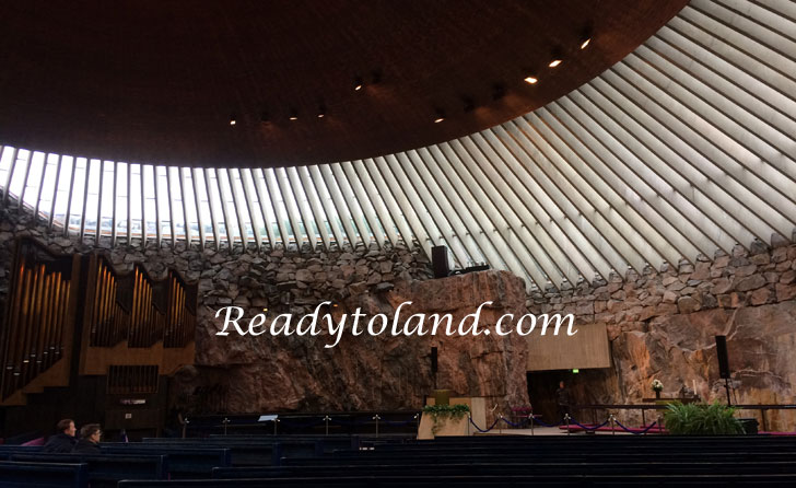 TemperiaUkio Church, Helsinki