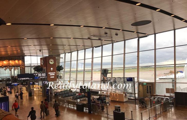Vantaa airport, Helsinki