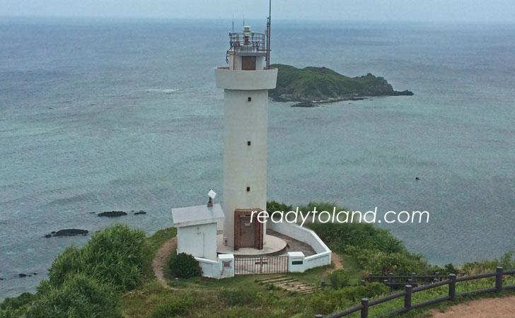 Faro di Hirakubozaki, isola di Ishigaki