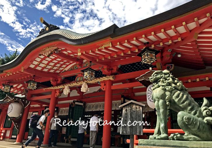 神戸、生田神社