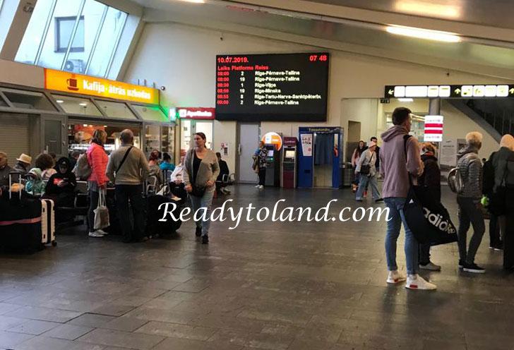 Riga bus station