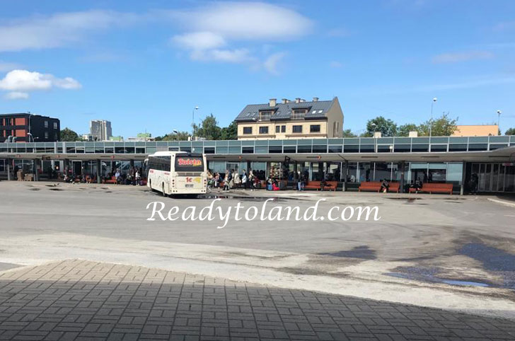 Tallin, bus station