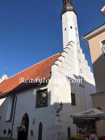 聖霊教会,タリン
