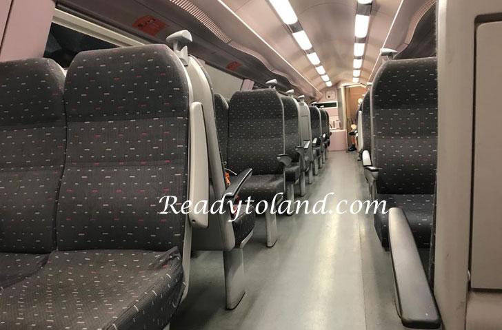 Train, Belgium