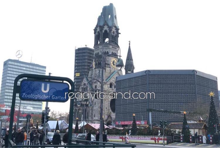 カイザー ヴィルヘルム記念教会、ベルリン