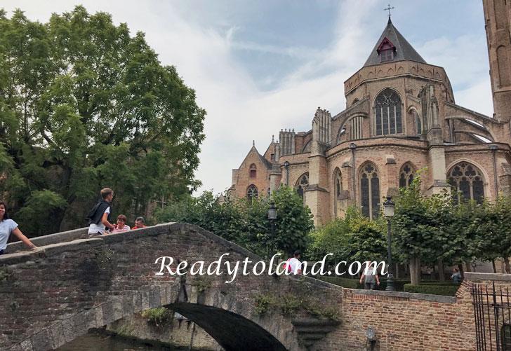Bonifacius Bridge, Brugge