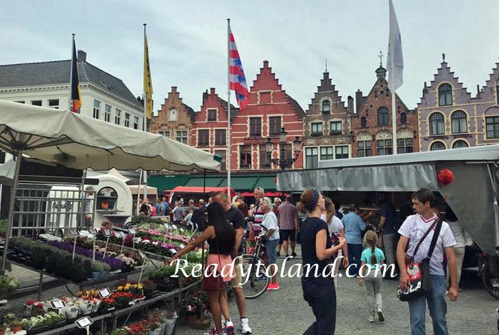 Markt, Brugge