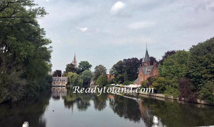 Minnewaterpark, Brugge