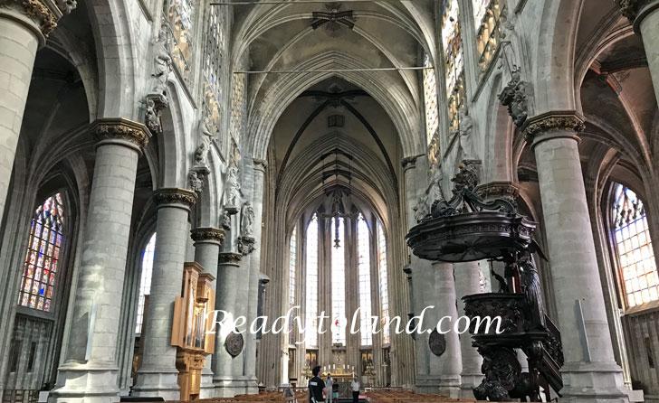 Eglise Notre Dame du Sablon, Brussels