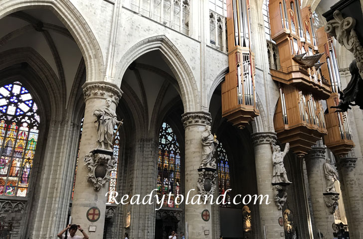 Cathedrale St. Michel, Brussels