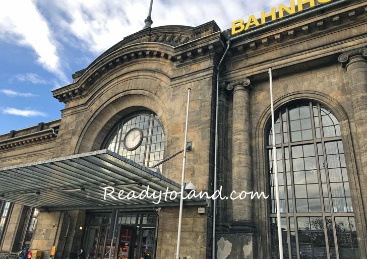 NEUSTRADT駅、ドレスデン