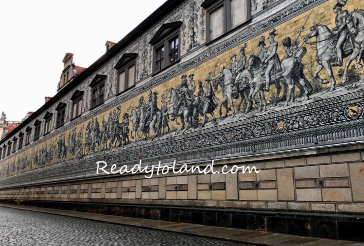 君主の行列、ドレスデン