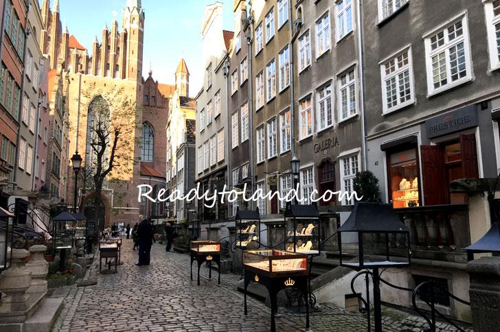 Mariacka street , Gdansk