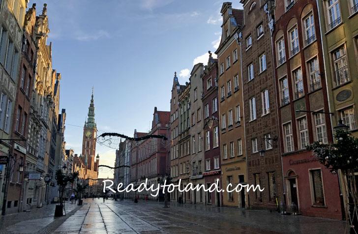 Dluga street , Gdansk