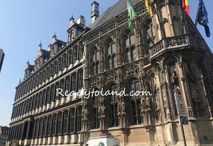 City hall, Gent