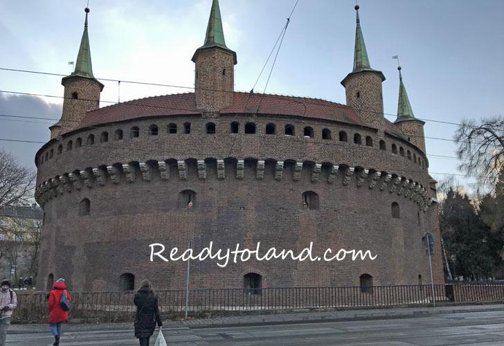 Barbakan Krakow