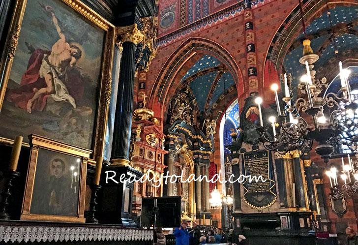 kościół Mariacki, Krakow