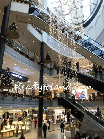 Kraków shopping mall