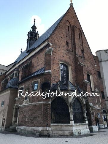 Kościół św. Barbary W Krakowie