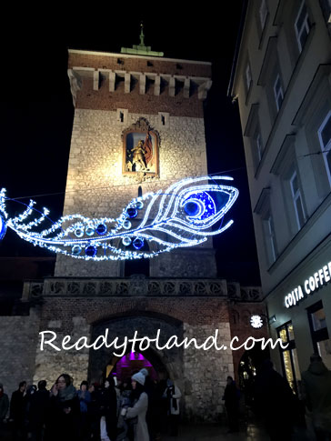 Brama Floriańska, Krakow