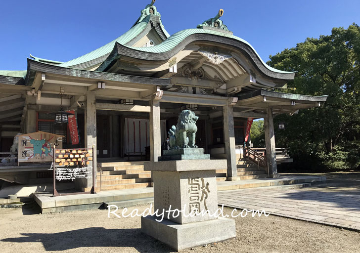 豊国神社、大阪