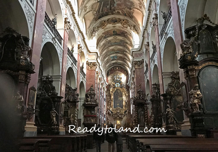 Bazilika sv. Jakuba, praha
