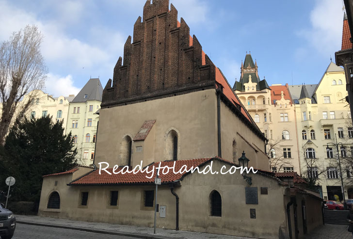 Old New Synagogue,prague