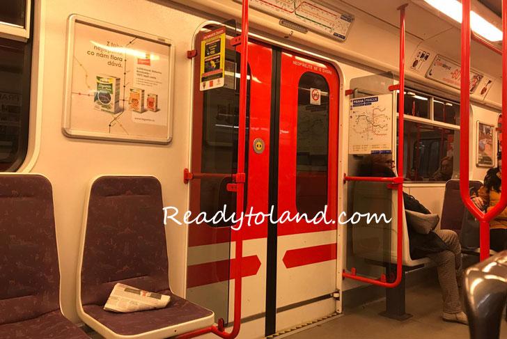 metro, praha