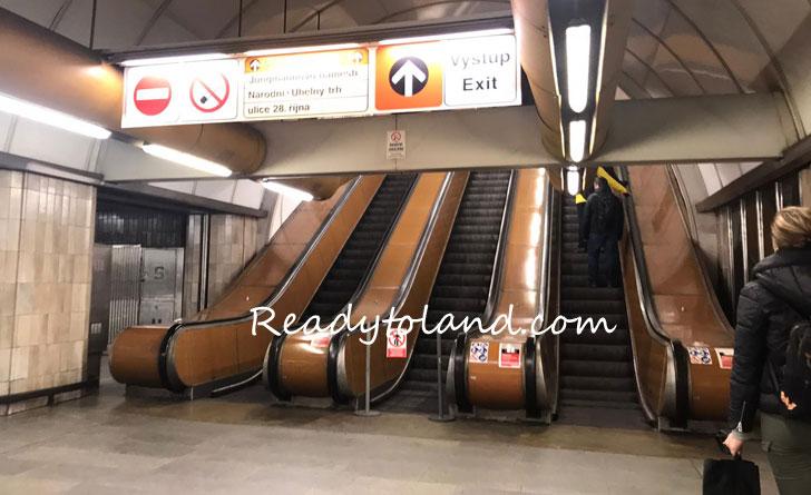 praha, metro