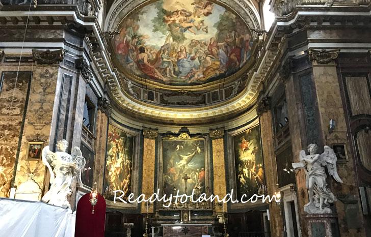 Basilica di Sant'Andrea delle Fratte、Roma