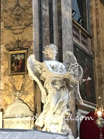 Angelo con con corona di spine、Bernini