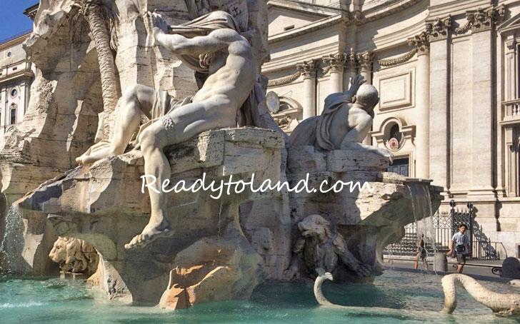 Fontana dei Quattro Fiumi, Bernini