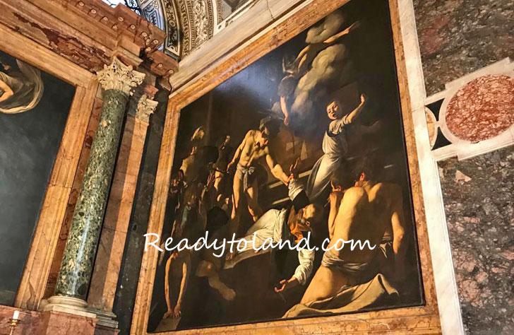 聖マタイの殉教、カラヴァッジョ、ローマ
