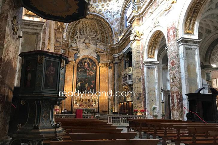 サン・ルイージ・ディ・フランチェージ教会、ローマ