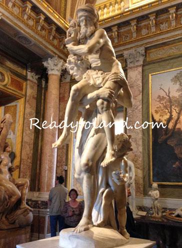 borghese gallery, roma