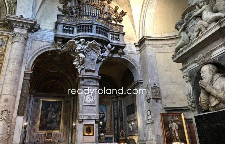 サンタ・マリア・デル・ポポロ教会、ローマ