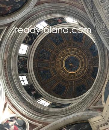 Basilica di Santa Maria del Popolo,roma
