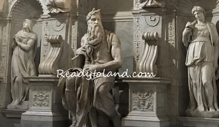 Mosè, basilica di san pietro in vincoli, roma