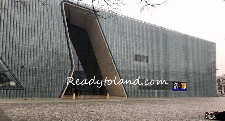POLIN Muzeum Historii Żydów Polskich, Warsaw