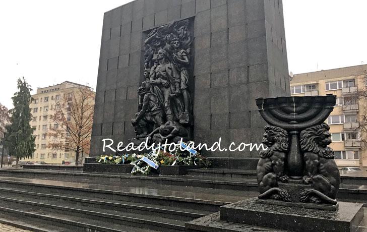 Pomnik Bohaterów Getta, Warsaw