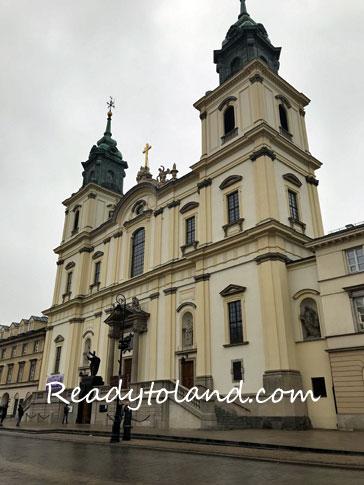 Bazylika Świętego Krzyża, Warsaw