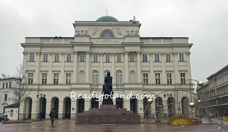 コペルニクスの像, Warsaw