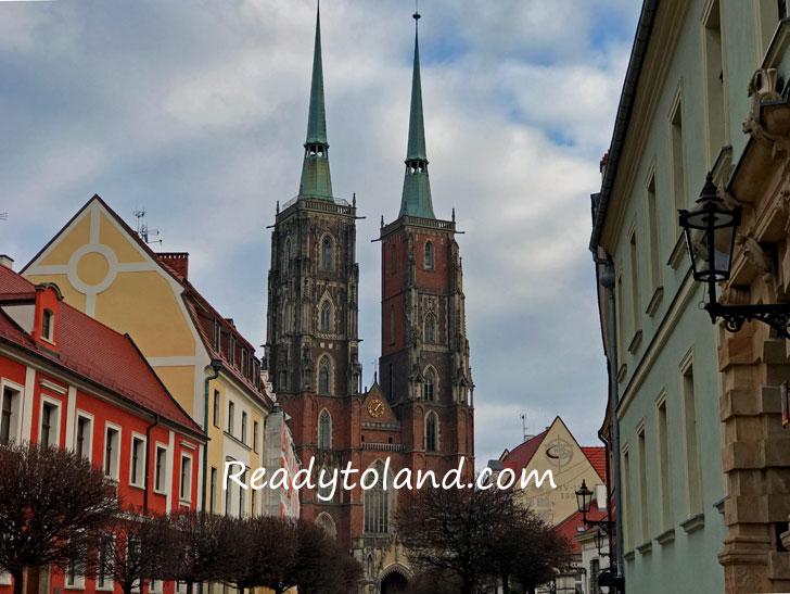Katedra św. Jana Chrzciciela, Wroclaw