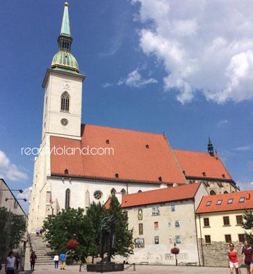 Katedrála svätého Martina Bratislava