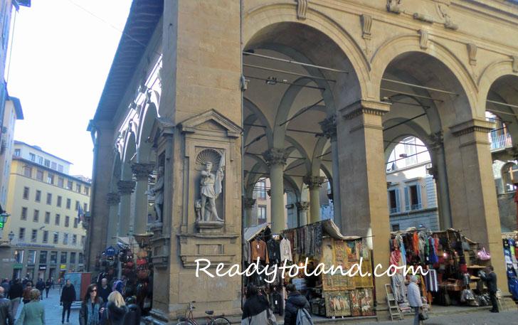 Loggia del Mercato Nuovo Firenze