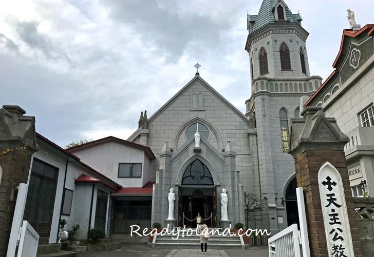 Catholic Church Hakodate Motomachi