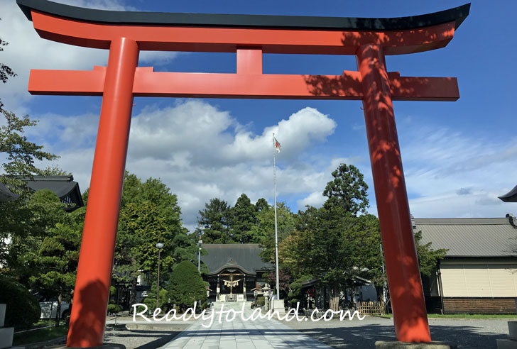 Yukura shrine, Hakodate
