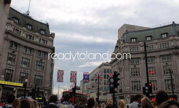 Oxford Circus, London