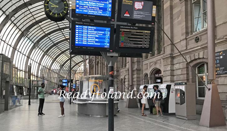 strasbourg central station
